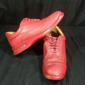 Red Cole Haan Nike Air Conner Shoes Men 13M